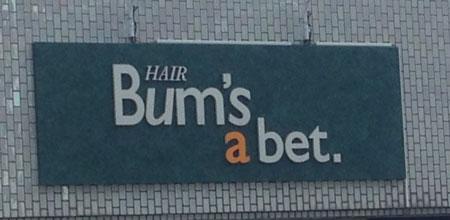 Bum's a Bet